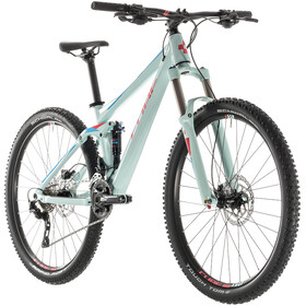 Cube Sting WS 120 EXC Dames, lightblue'n'coral